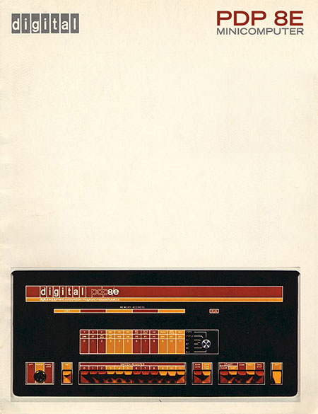 PDP 8E - ISO50v