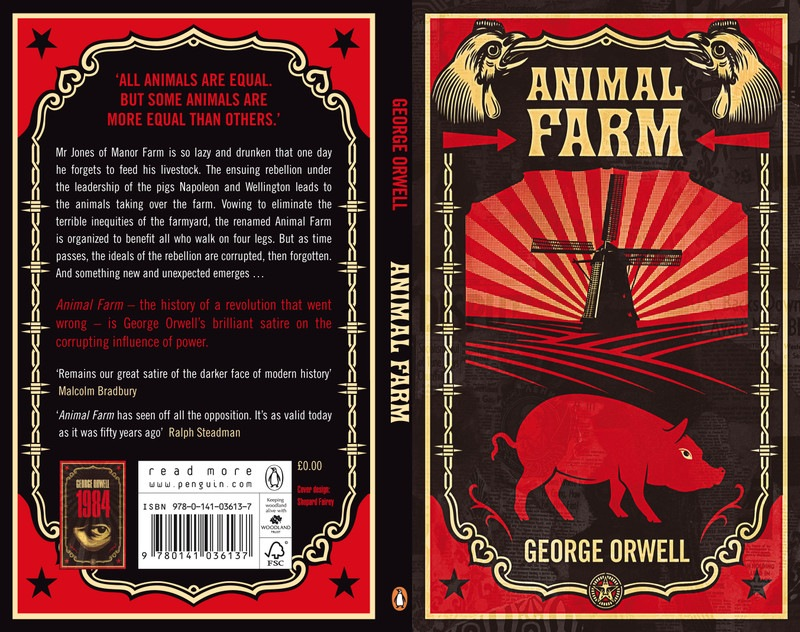 political allegory in george orwells book the animal farm None excellentpolitical allegory in the book animal farm'ideas play a part in any revolution, conflicting ideas is main reason why revolutions happens ' this is the platform that george orwell used in his book ' animal farm' the political allegory in.