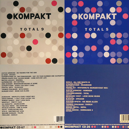 Kompakt Total covers