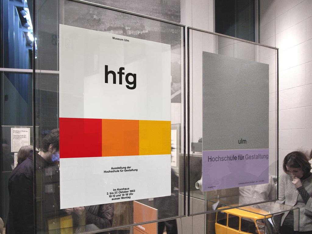Hfg ulm posters iso50 blog the blog of scott hansen for Design buro ulm