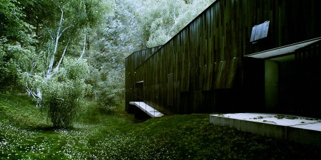 Forest Refuge house:  Satoshi Okada