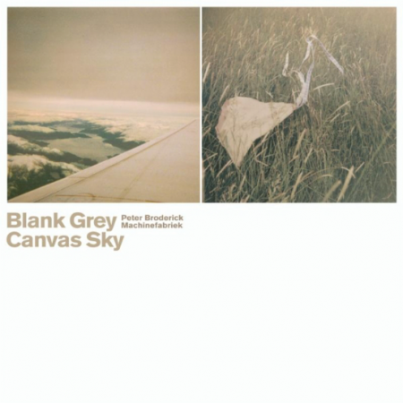 Blank Grey Canvas Sky