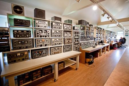 Ham Radio Console Ham Radio Operator George