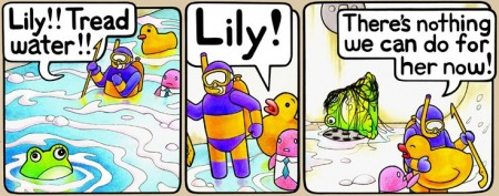 PBF comics: Shower Drain