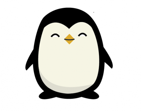 Cute Baby Penguin Drawing