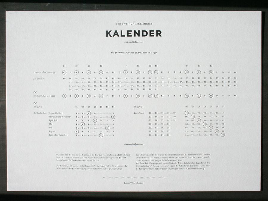 200 Year Kalendar » ISO50 Blog – The Blog of Scott Hansen ...