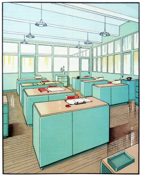 A S D Interiors Blog: 1930's Interior Architecture Illustrations » ISO50 Blog