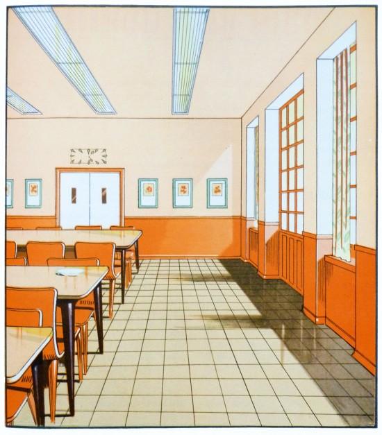 Designall20 July 2012: 1930's Interior Architecture Illustrations » ISO50 Blog