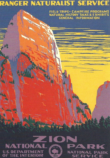 Wpa National Park Posters 187 Iso50 Blog The Blog Of Scott