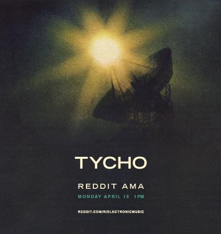 Tycho / ISO50 Reddit AMA Today » ISO50 Blog – The Blog of Scott