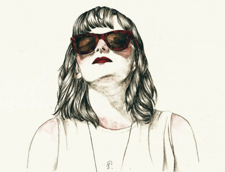 Lauren Mayberry by Lucy Salgado Illustration