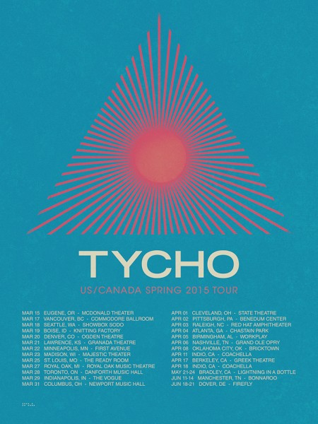 Tycho Hits The Road This March First Of A Handful Posters Just Went Up On Shop You Can Grab Yours Here