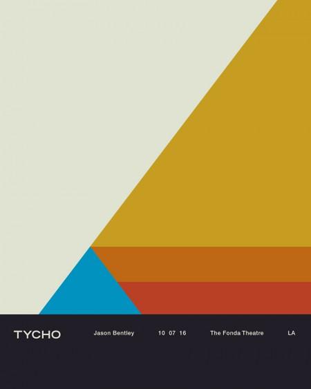 Tycho Fonda LA Concert Poster